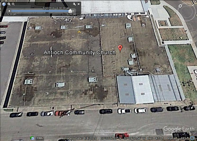 Antioch Community Church Waco - Coal Tar Pitch Built-Up