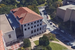 UT Austin John B. Connally Law Center - Ludowici Clay Tile, Architectural Standing Seam Metal, Vistawall Commercial Skylight System