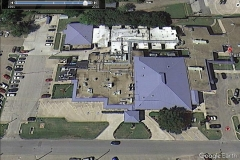 Parkview Regional Hospital Mexia - Architectural Standing Seam Metal & Built-Up Asphalt