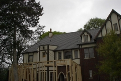 Slate Roof with Copper