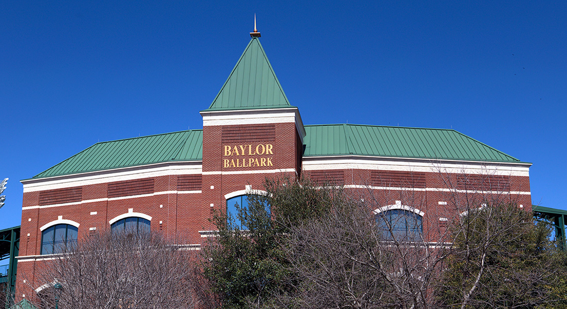 Guest Roofing Services Waco - Baylor Ballpark - Commercial Metal Roofing Services