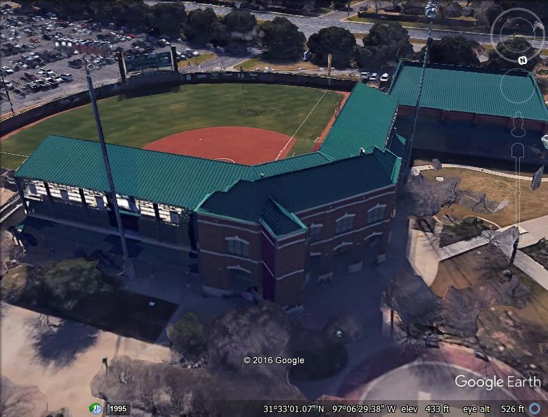 Baylor Softball Field - Architectural Standing Seam Metal & Modified Bitumen
