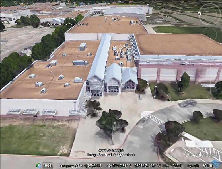 Desoto Freshman Campus School - Architectural Standing Seam Metal & Built-Up Asphalt