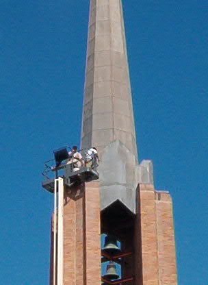 First United Methodist Church Waco - Custom Sheet Metal/Steeple