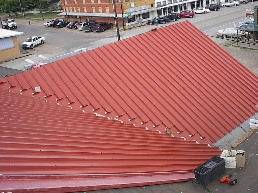 First United Methodist Church Waco - Berridge Metal Tile & Modified Bitumen