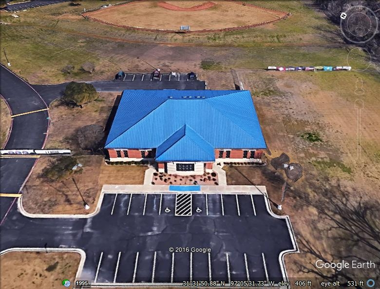 Waco Little League Center - Architectural Standing Seam Metal Roofing