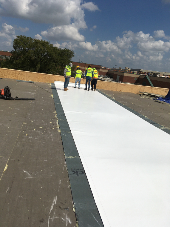 Commercial Roofing Waco, Texas - D3 Feltback