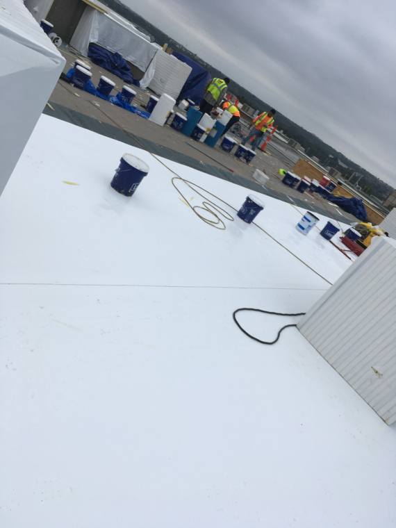 Commercial Roofing Waco, Texas - PVC Roof