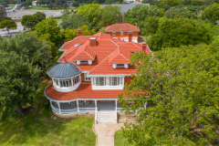 Residential Roofing - Historic Cutis Mansion Waco, Texas